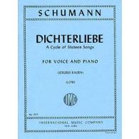 SCHUMANN R. DICHTERLIEBE OP 48 VOICE LOW