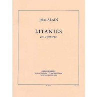 ALAIN J. LITANIES GRAND ORGUE
