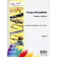 COITEUX F. TROIS FRIVOLITES TROMPETTE