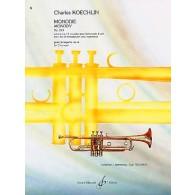 KOECHLIN C. MONODIE OP 213 TROMPETTE SOLO