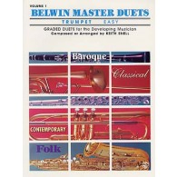 BELWIN MASTER DUETS EASY VOL 1 TROMPETTES