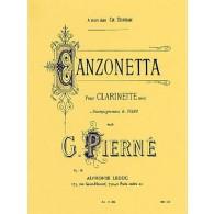 PIERNE G. CANZONETTA CLARINETTE