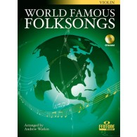 WORLD FAMOUS FOLKSONGS VIOLON