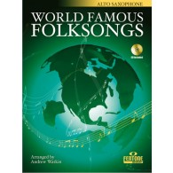 WORLD FAMOUS FOLKSONGS SAXO ALTO