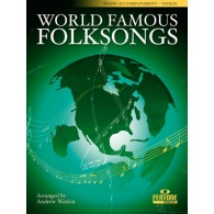 WORLD FAMOUS FOLKSONGS ACCOMPAGNEMENT PIANO VIOLON
