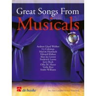 GREAT SONGS FROM MUSICALS CLARINETTE