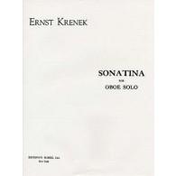 KRENEK E. SONATINA HAUTBOIS SOLO