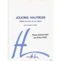 KASIC G. JOUONS HAUTBOIS VOL 1
