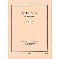 FRANCK C. PIECE V HAUTBOIS