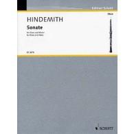 HINDEMITH P. SONATE HAUTBOIS