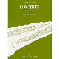 ALBINONI T. CONCERTO OP 7 N°6 HAUTBOIS