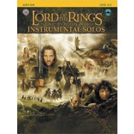 THE LORD OF THE RINGS INSTRUMENTAL SOLOS  ALTO SAXO