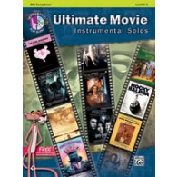 ULTIMATE MOVIE INSTRUMENTAL SOLOS SAXO ALTO