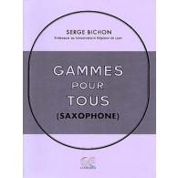 BICHON S. GAMMES POUR TOUS SAXOPHONE