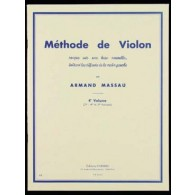 MASSAU A. METHODE DE VIOLON VOL 4