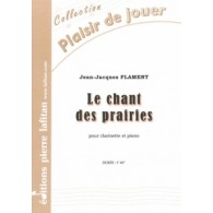 FLAMENT J.J. LE CHANT DES PRAIRIES CLARINETTE