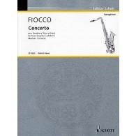 FIOCCO J.H. CONCERTO CELLO SAXO