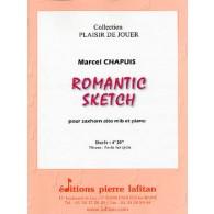 CHAPUIS M. ROMANTIC SKETCH SAXHORN ALTO
