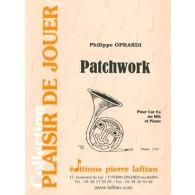 OPRANDI P. PATCHWORK SAXHORN ALTO
