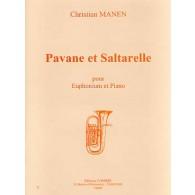 MANEN C. PAVANE ET SALTARELLE EUPHONIUM