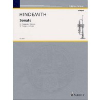 HINDEMITH P. SONATE TROMPETTE