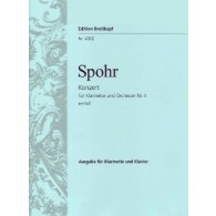 SPOHR L. CONCERTO N°4 CLARINETTE PIANO