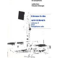 ROLIN E. APHORISMES II (A É I ) SAXO SOLO