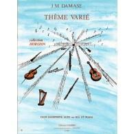 DAMASE J.M. THEME VARIE SAXO MIB