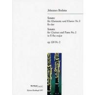 BRAHMS J. SONATE OPUS 120 N°2 CLARINETTE