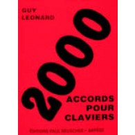 LEONARD G. 2000 ACCORDS POUR CLAVIERS