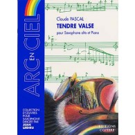PASCAL C. TENDRE VALSE SAXO MIB