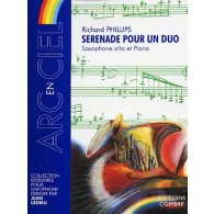 PHILLIPS R. SERENADE POUR UN DUO SAXO MIB