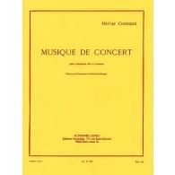 CONSTANT M. MUSIQUE DE CONCERT SAXO MIB