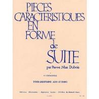 DUBOIS P.M. PIECE CARACTERISTIQUE EN FORME DE SUITE N°1 SAXO MIB