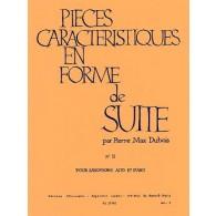 DUBOIS P.M. PIECE CARACTERISTIQUE EN FORME DE SUITE N°2 SAXO