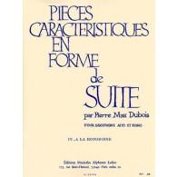 DUBOIS P.M. PIECE CARACTERISTIQUE EN FORME DE SUITE N°4 SAXO MIB