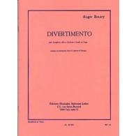 BOUTRY R. DIVERTIMENTO SAXO MIB