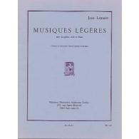 LEMAIRE J. MUSIQUES LEGERES SAXO MIB