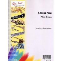 CREPIN A. SAX IN FIRE SAXO MIB OU SIB