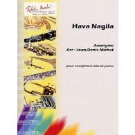 ANONYME HAVA NAGILA SAXO MIB