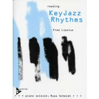 LIPSIUS F. READING KEY JAZZ RHYTHMS PIANO