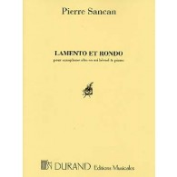 SANCAN P. LAMENTO ET RONDO SAXO MIB