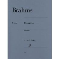 BRAHMS J. TRIOS VIOLON VIOLONCELLE PIANO