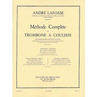 LAFOSSE A. METHODE COMPLETE DE TROMBONE A COULISSE VOL 3