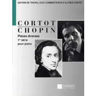 CHOPIN F. PIECES DIVERSES 1RE SERIE PIANO