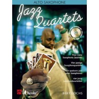 LOCHS B. JAZZ QUARTETS SAXOPHONES MIB