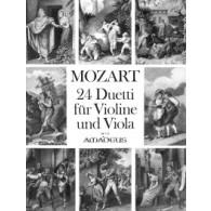 MOZART W.A. DUOS VIOLON ET ALTO