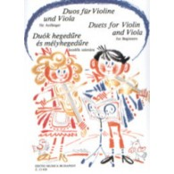 DUETS FOR VIOLIN AND VIOLA FOR BEGINNERS