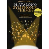 PLAYALONG SYMPHONIC THEMES CLARINETTE