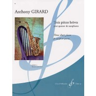 GIRARD A. PIECES BREVES SAXOS